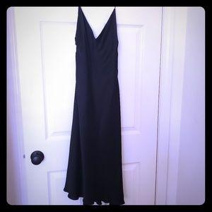 Ann Taylor Black Slip Dress